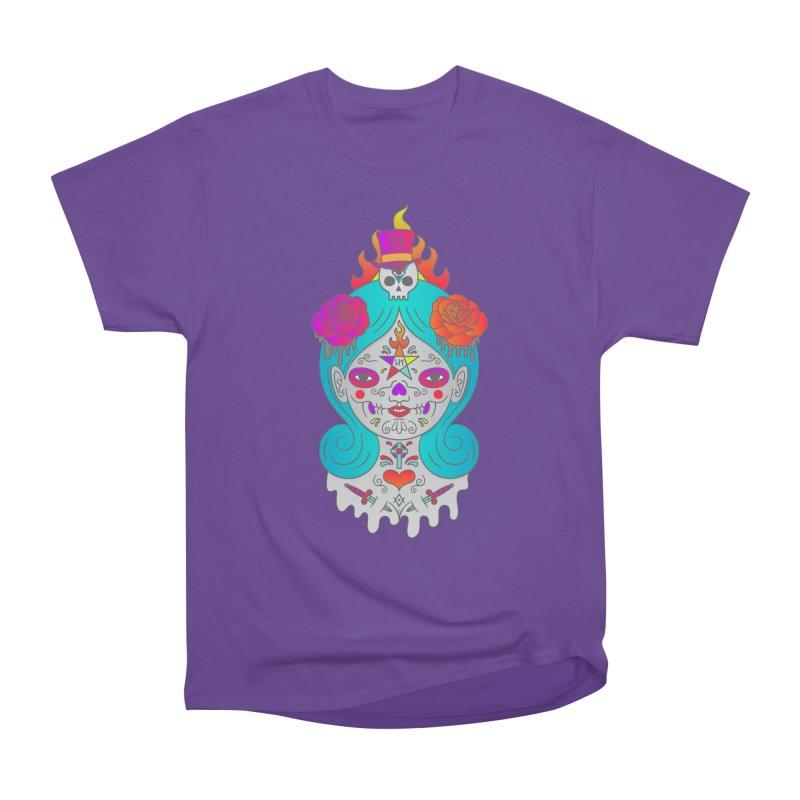 Voodoo Doll Women's Heavyweight Unisex T-Shirt by Quick Brown Fox