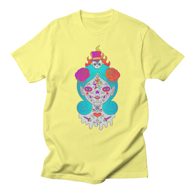 Voodoo Doll Women's Regular Unisex T-Shirt by Quick Brown Fox