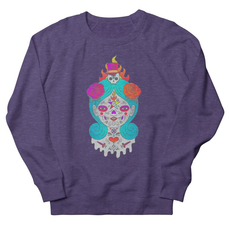 Voodoo Doll Women's French Terry Sweatshirt by Quick Brown Fox