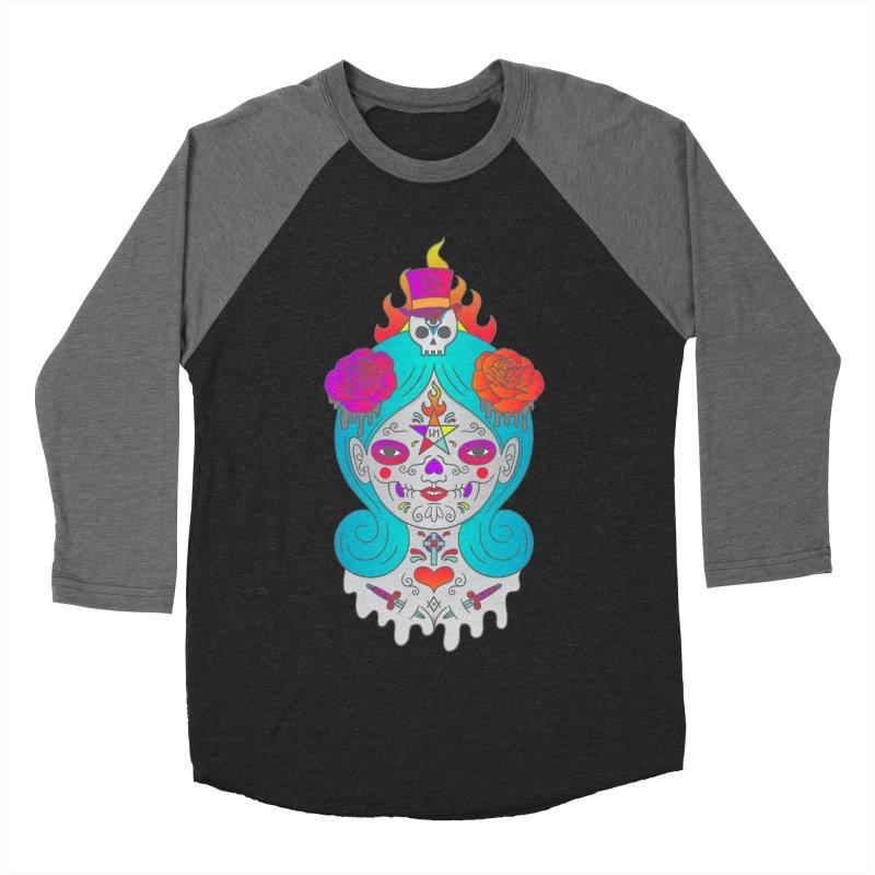 Voodoo Doll Women's Baseball Triblend Longsleeve T-Shirt by Quick Brown Fox