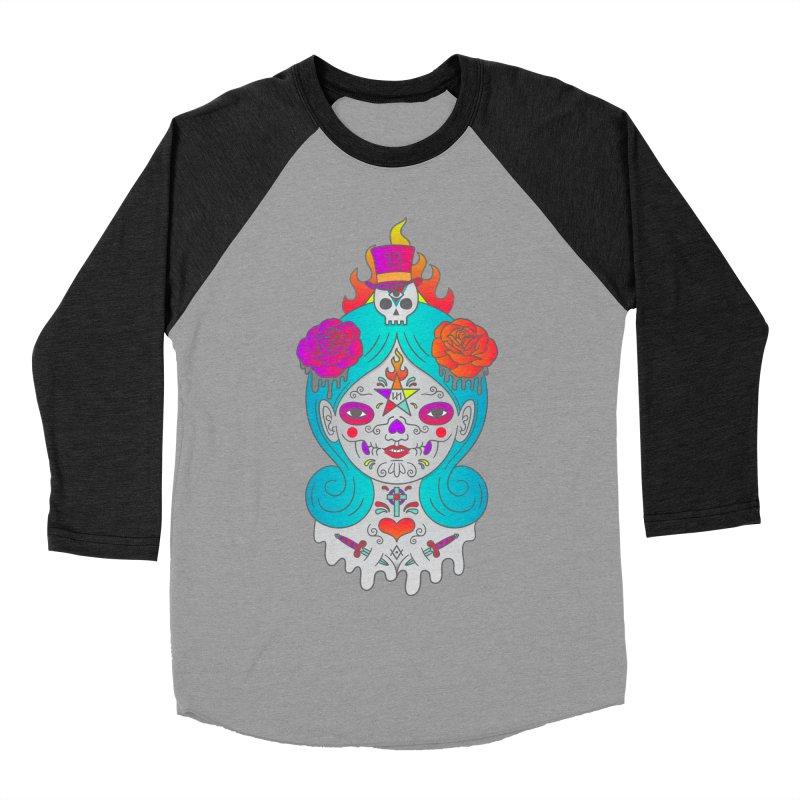 Voodoo Doll Men's Baseball Triblend Longsleeve T-Shirt by Quick Brown Fox