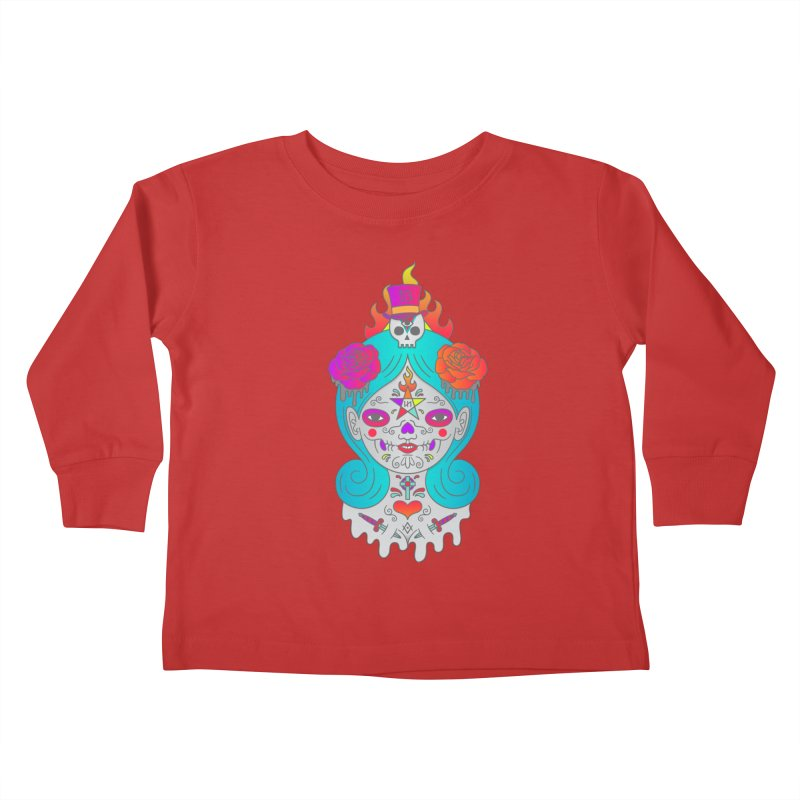 Voodoo Doll Kids Toddler Longsleeve T-Shirt by Quick Brown Fox