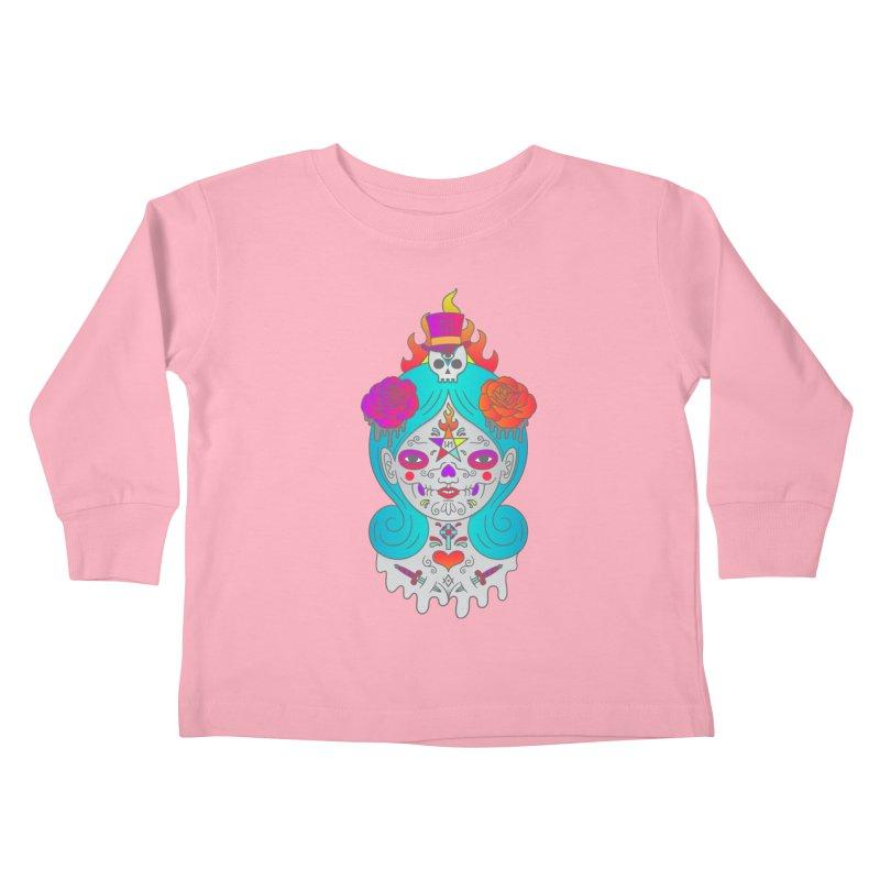 Voodoo Doll Kids Toddler Longsleeve T-Shirt by Quick Brown Fox