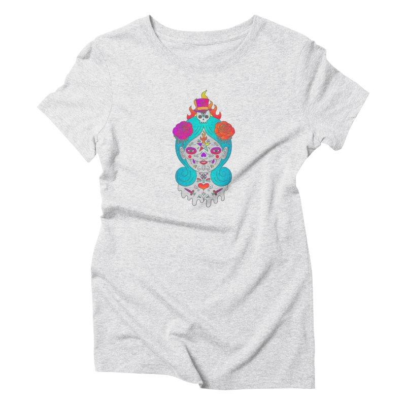 Voodoo Doll Women's T-Shirt by Quick Brown Fox
