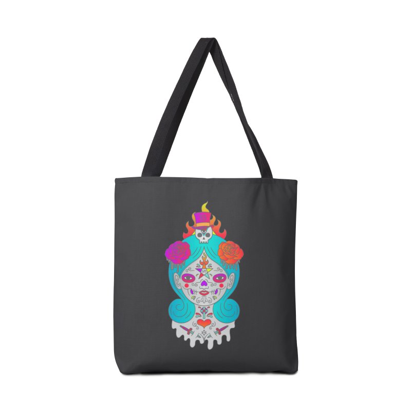 Voodoo Doll Accessories Tote Bag Bag by Quick Brown Fox
