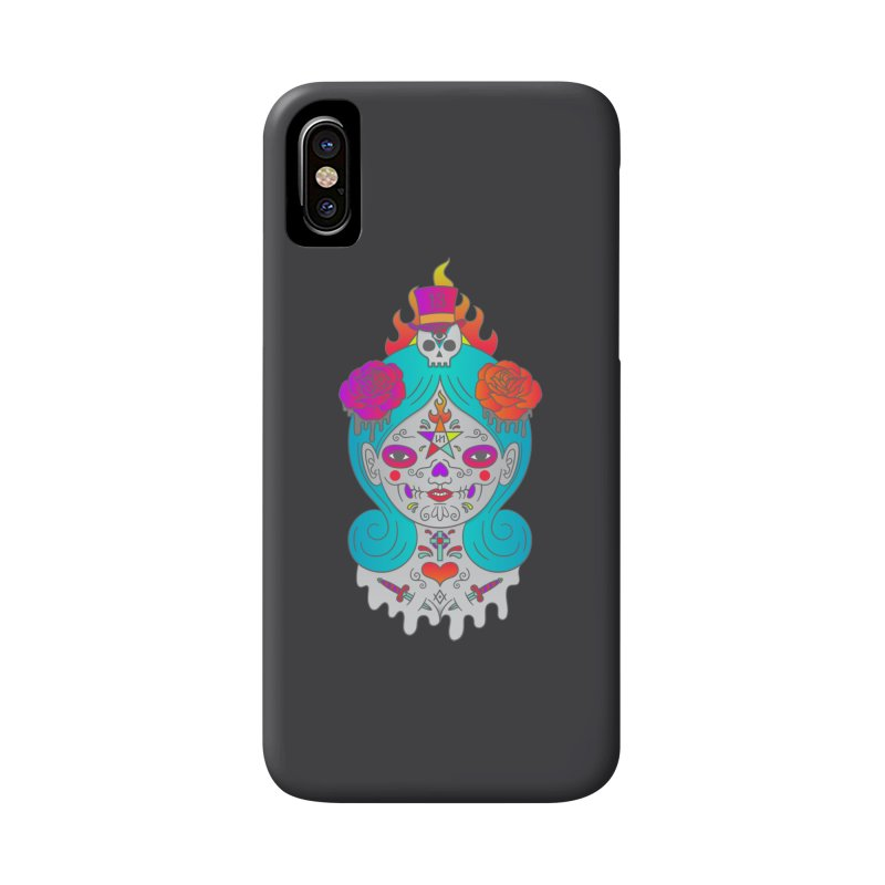 Voodoo Doll Accessories Phone Case by Quick Brown Fox