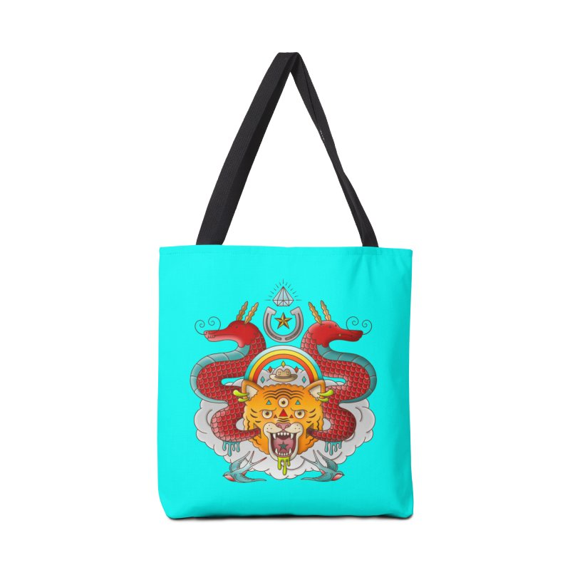 Get Lucky Accessories Tote Bag Bag by Quick Brown Fox