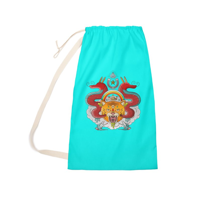 Get Lucky Accessories Laundry Bag Bag by Quick Brown Fox