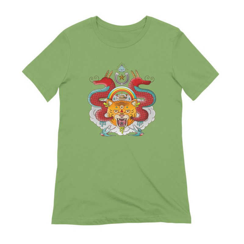 Get Lucky Women's Extra Soft T-Shirt by Quick Brown Fox