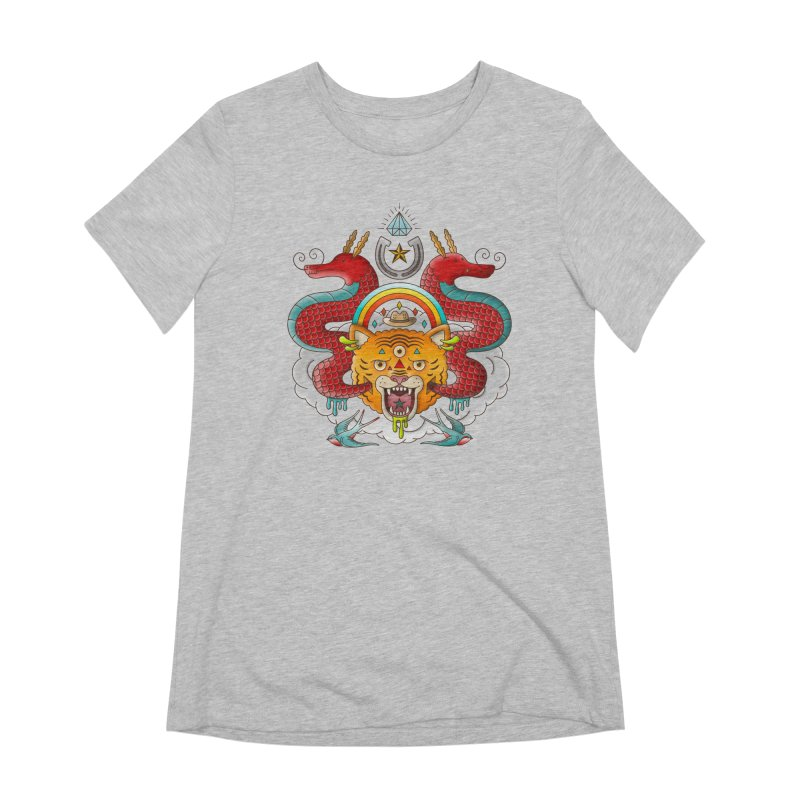 Get Lucky Women's Extra Soft T-Shirt by Quick Brown Fox