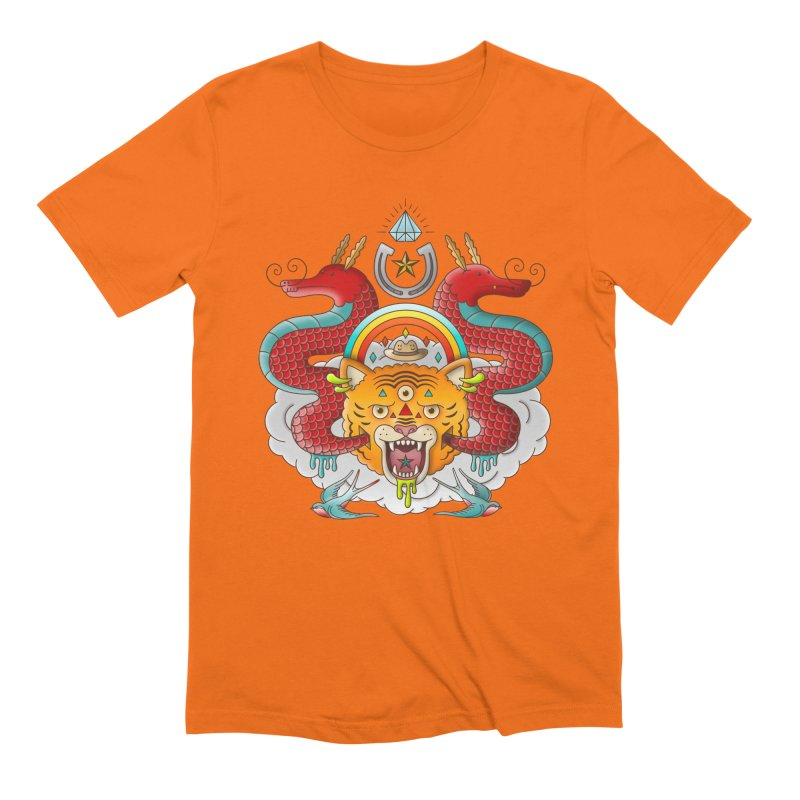 Get Lucky Men's Extra Soft T-Shirt by Quick Brown Fox