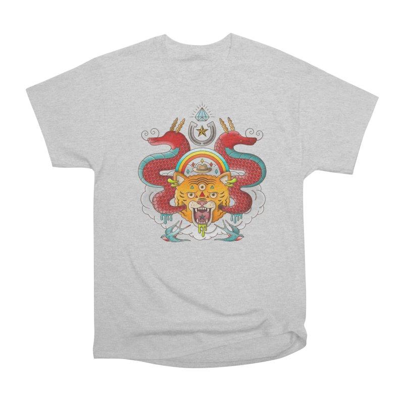 Get Lucky Women's Heavyweight Unisex T-Shirt by Quick Brown Fox