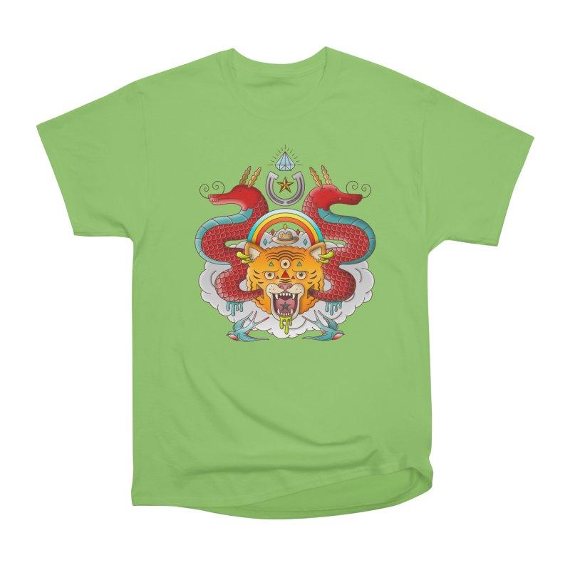 Get Lucky Men's Heavyweight T-Shirt by Quick Brown Fox