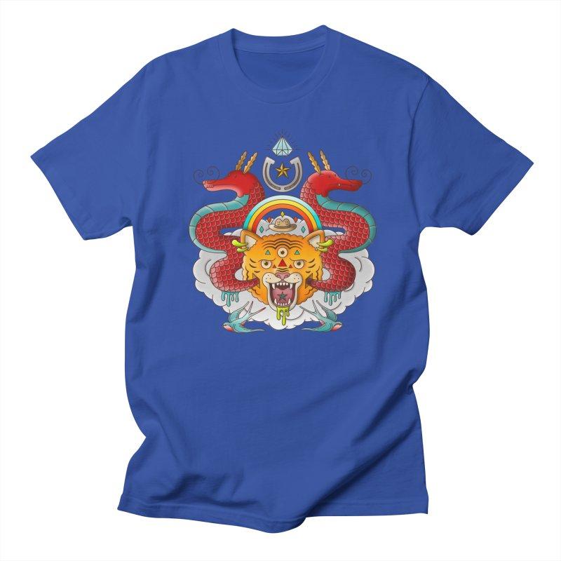Get Lucky Men's Regular T-Shirt by Quick Brown Fox