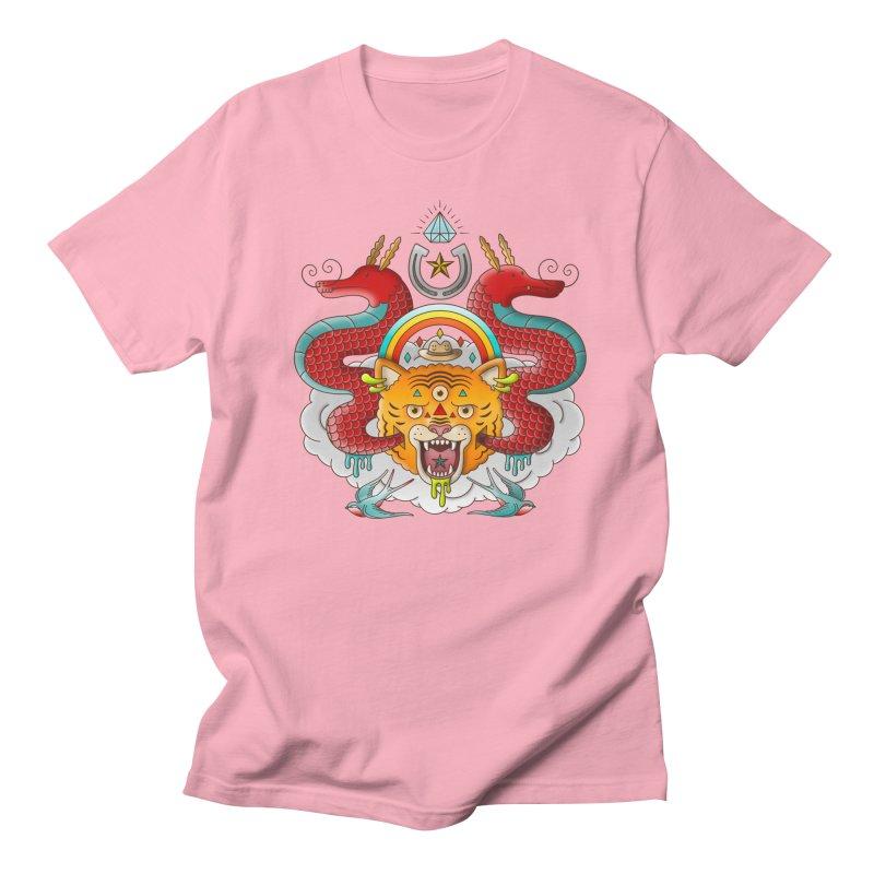 Get Lucky Women's Regular Unisex T-Shirt by Quick Brown Fox