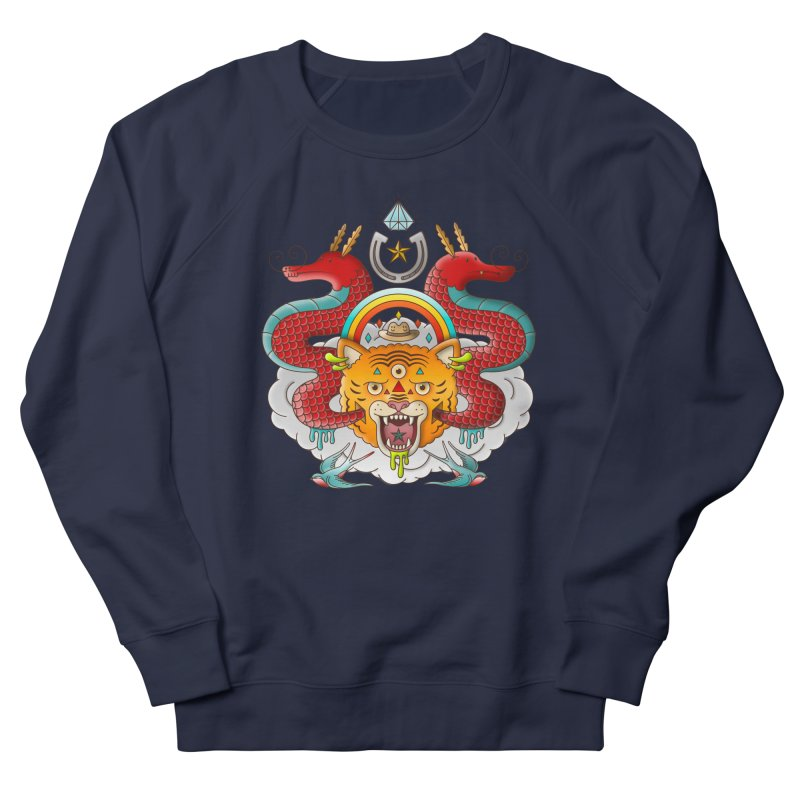 Get Lucky Women's French Terry Sweatshirt by Quick Brown Fox