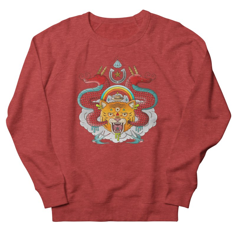 Get Lucky Men's French Terry Sweatshirt by Quick Brown Fox