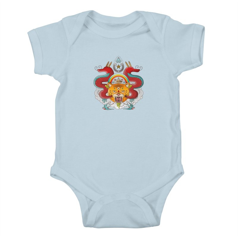Get Lucky Kids Baby Bodysuit by Quick Brown Fox