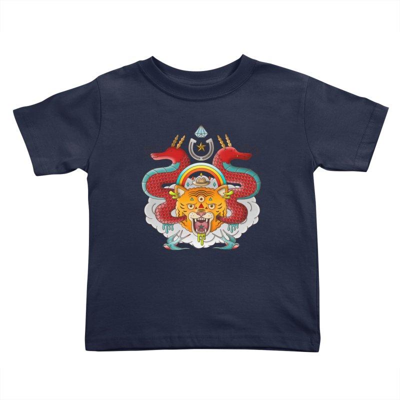 Get Lucky Kids Toddler T-Shirt by Quick Brown Fox