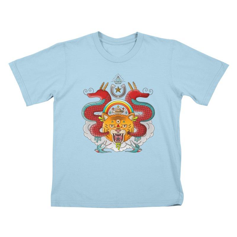 Get Lucky Kids T-Shirt by Quick Brown Fox