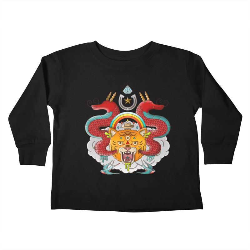 Get Lucky Kids Toddler Longsleeve T-Shirt by Quick Brown Fox