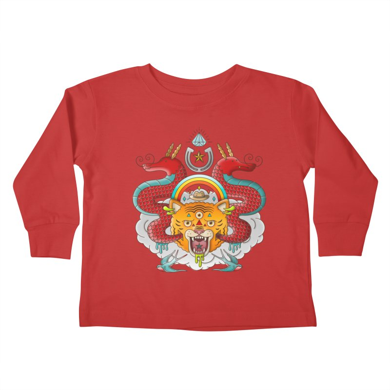 Get Lucky Kids Toddler Longsleeve T-Shirt by Quick Brown Fox