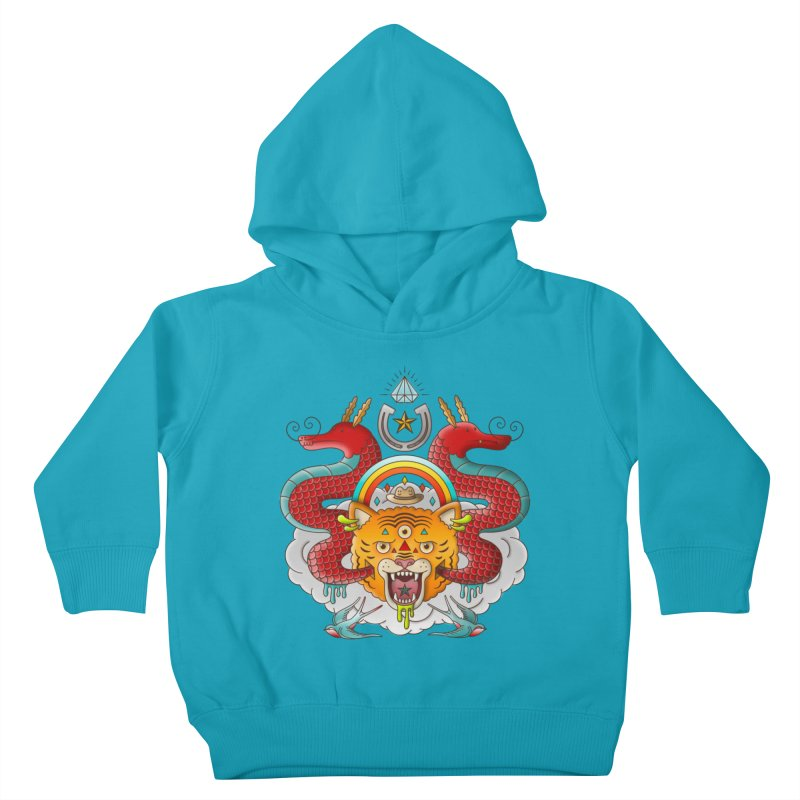 Get Lucky Kids Toddler Pullover Hoody by Quick Brown Fox