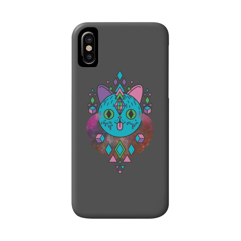 Space Kitty Accessories Phone Case by Quick Brown Fox