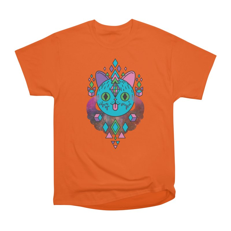 Space Kitty Women's T-Shirt by Quick Brown Fox