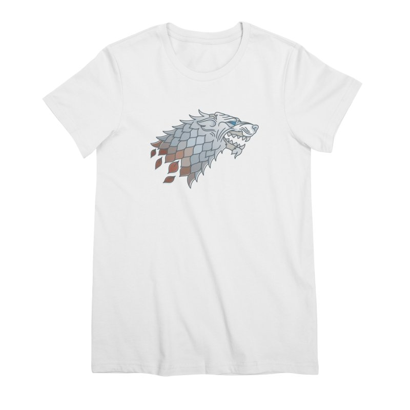 Winter Has Come Women's Premium T-Shirt by Quick Brown Fox