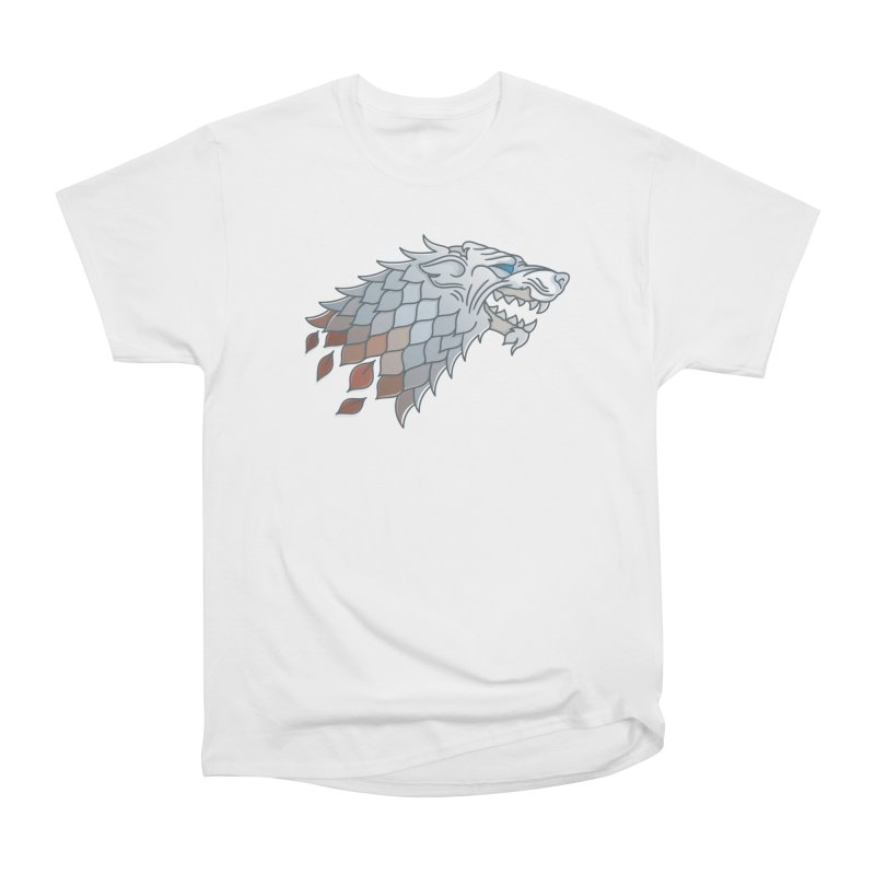 Winter Has Come Women's Heavyweight Unisex T-Shirt by Quick Brown Fox