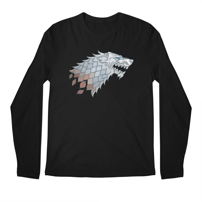 Winter Has Come Men's Regular Longsleeve T-Shirt by Quick Brown Fox