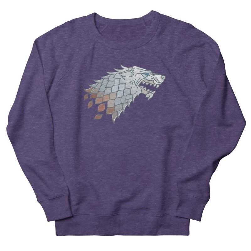 Winter Has Come Women's French Terry Sweatshirt by Quick Brown Fox