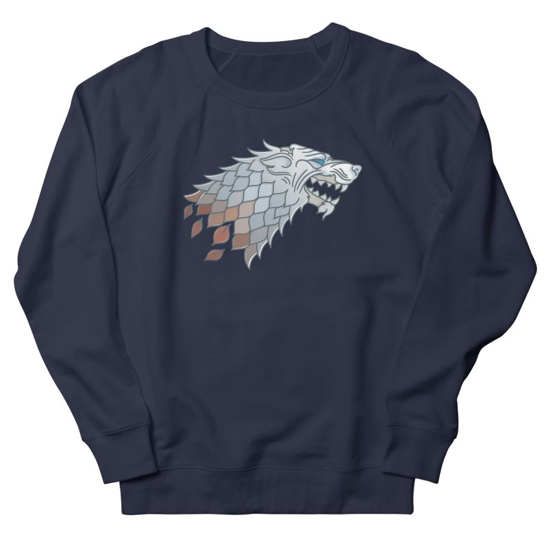 Winter Has Come Men's French Terry Sweatshirt by Quick Brown Fox