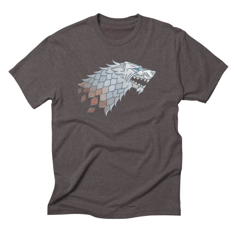 Winter Has Come Men's Triblend T-Shirt by Quick Brown Fox