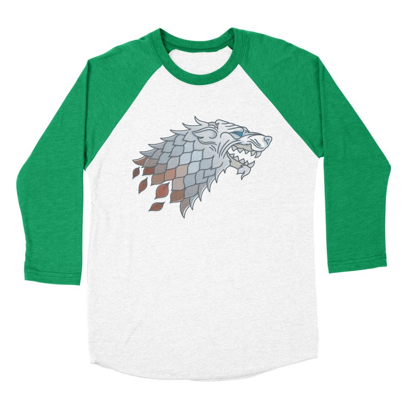 Winter Has Come Women's Baseball Triblend Longsleeve T-Shirt by Quick Brown Fox