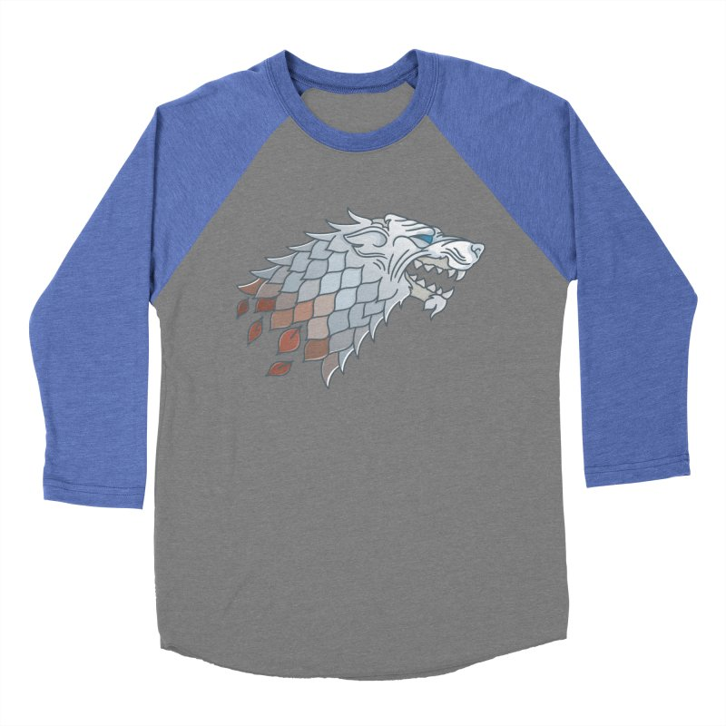 Winter Has Come Men's Baseball Triblend Longsleeve T-Shirt by Quick Brown Fox
