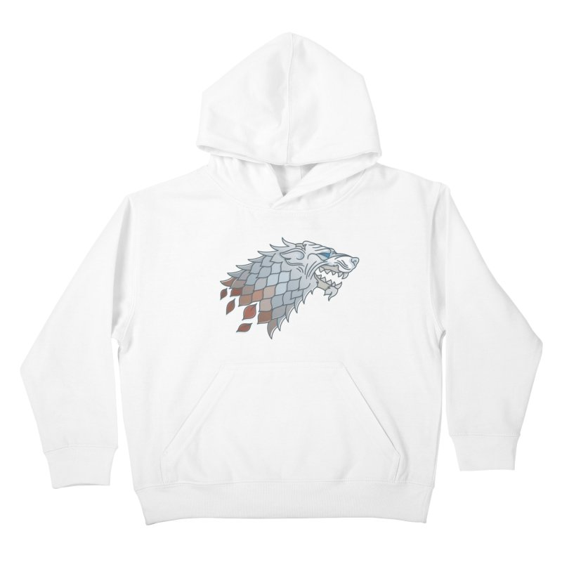Winter Has Come Kids Pullover Hoody by Quick Brown Fox
