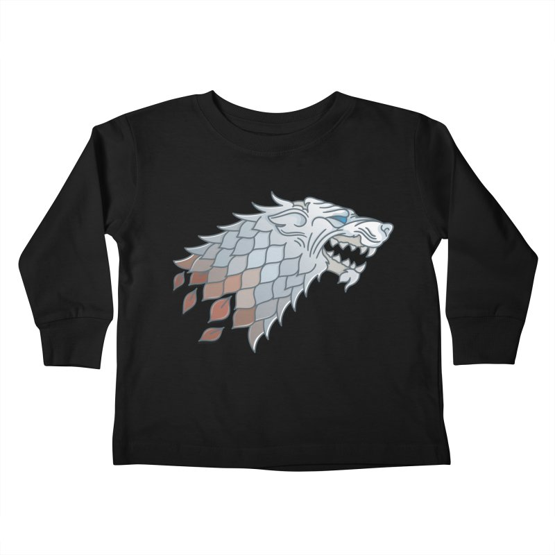 Winter Has Come Kids Toddler Longsleeve T-Shirt by Quick Brown Fox