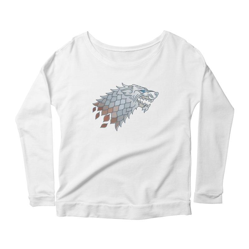 Winter Has Come Women's Scoop Neck Longsleeve T-Shirt by Quick Brown Fox