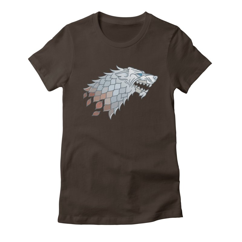 Winter Has Come Women's Fitted T-Shirt by Quick Brown Fox