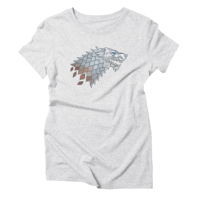 Winter Has Come Women's Triblend T-Shirt by Quick Brown Fox