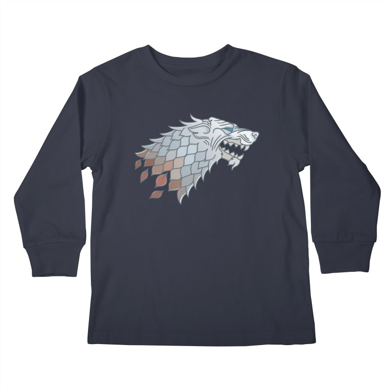 Winter Has Come Kids Longsleeve T-Shirt by Quick Brown Fox
