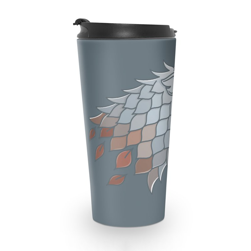 Winter Has Come Accessories Travel Mug by Quick Brown Fox