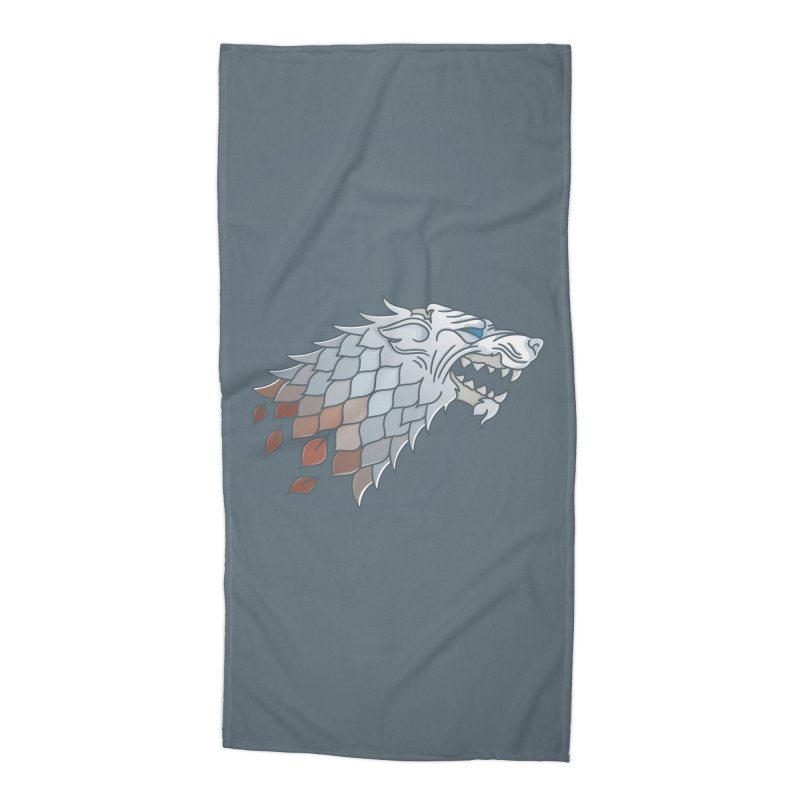 Winter Has Come Accessories Beach Towel by Quick Brown Fox
