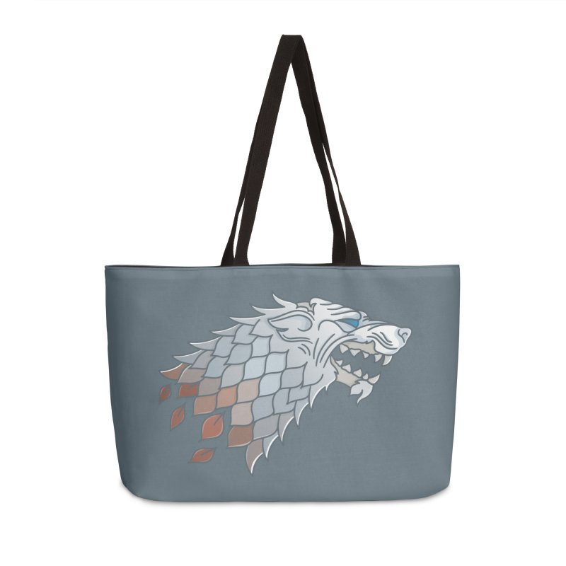 Winter Has Come Accessories Weekender Bag Bag by Quick Brown Fox