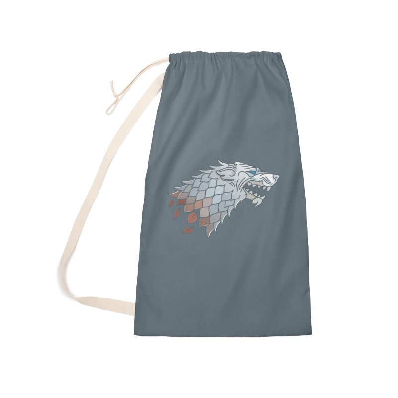 Winter Has Come Accessories Laundry Bag Bag by Quick Brown Fox
