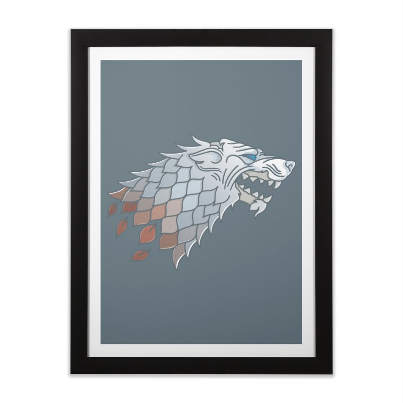 Winter Has Come Home Framed Fine Art Print by Quick Brown Fox