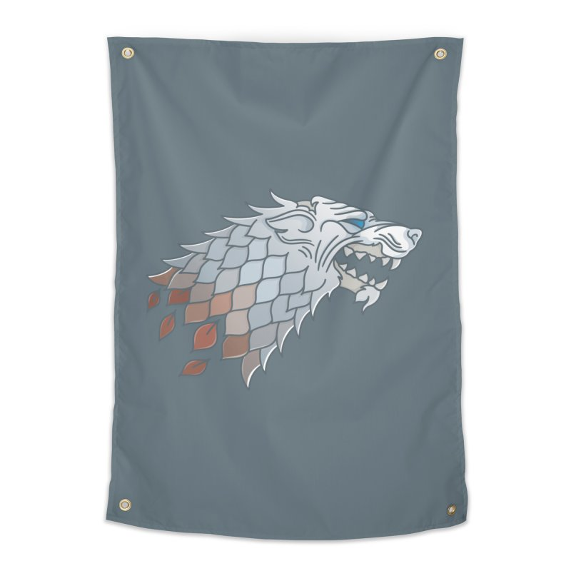 Winter Has Come Home Tapestry by Quick Brown Fox