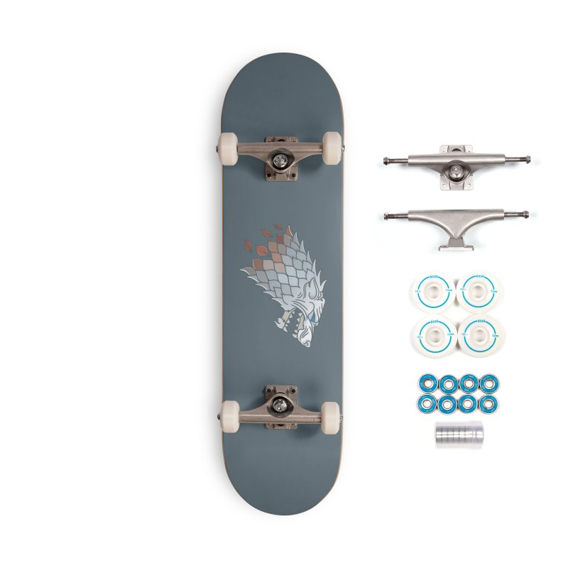 Winter Has Come Accessories Complete - Basic Skateboard by Quick Brown Fox